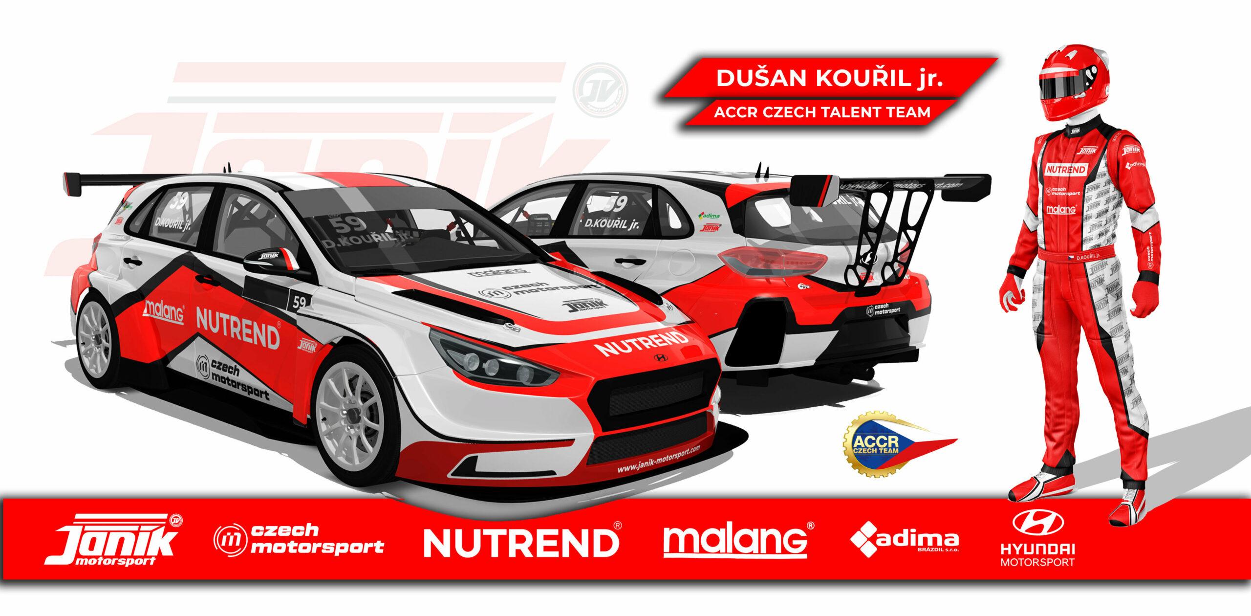 Kouřil joins forces with Janík Motorsport